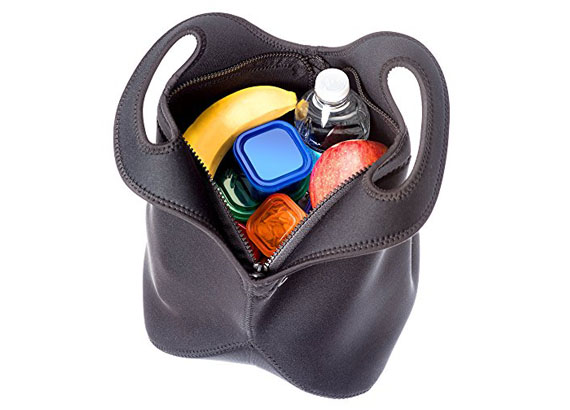 Promotional Insulated Neoprene Lunch Bags with zipper