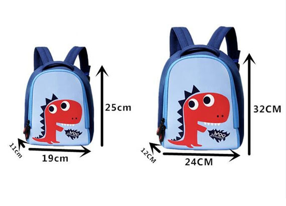 Kids School Snack Neoprene Lunch Bag Backpack